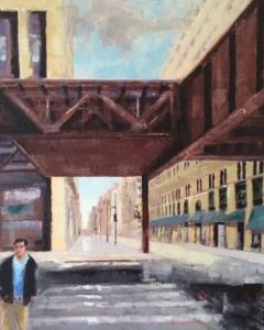 16x20 oil on canvas  -  $685