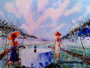 22x24 oil on canvas
